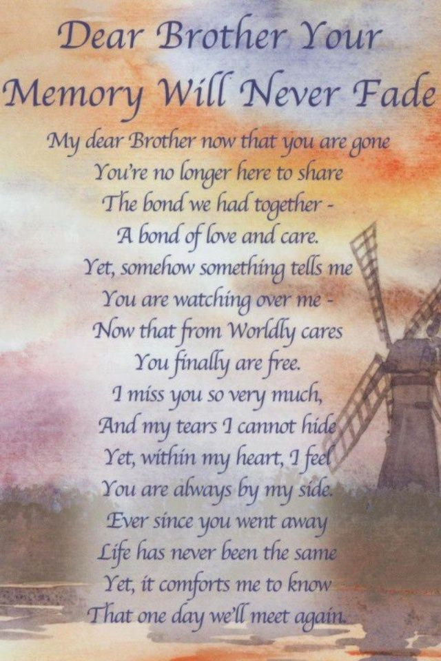 Missing My Brother In Heaven Quotes I Miss You Brother Health