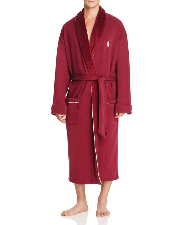 Polo Ralph Lauren Fleece Lined Shawl Collar Robe | Products ...