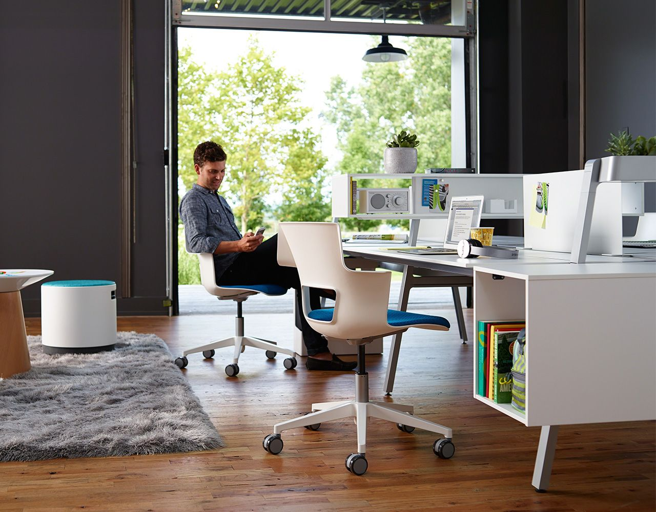 Bivi Collection Of Modular Office Desk Systems Modern Office Furniture Design Office Furniture Modern Office Furniture Design
