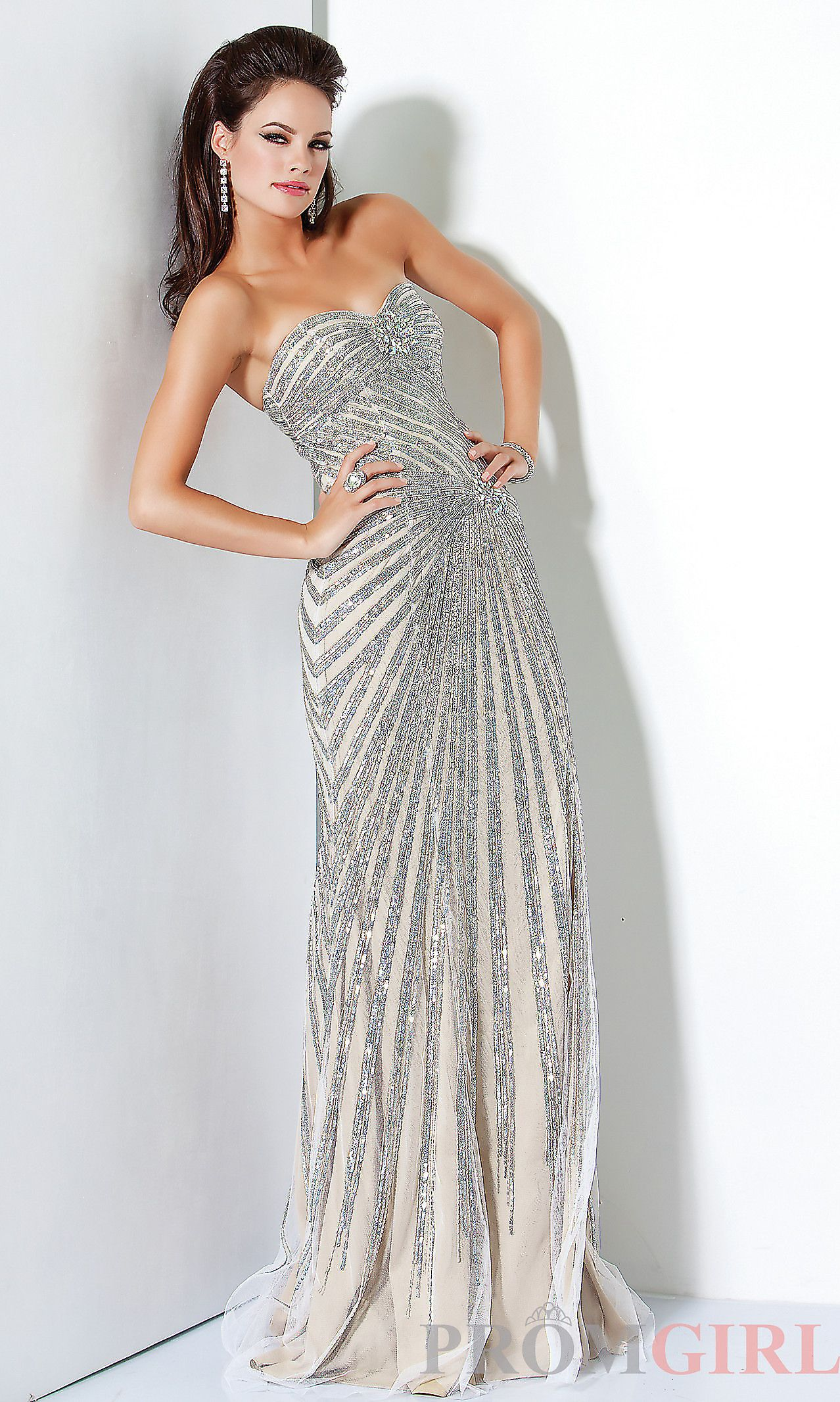 Jovani strapless dress with sequins outfits i love pinterest