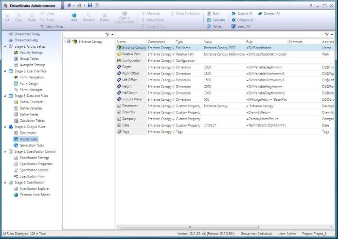 Working with DriveWorks Pro v15 SP0 for SW2010-2017 x86 x64 full