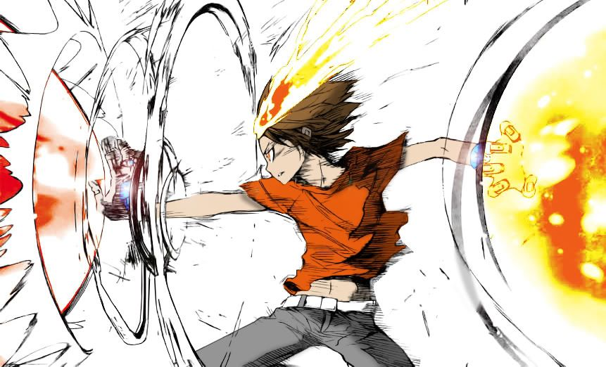 Tsuna X Burner Reborn Katekyo Hitman Hitman Reborn Manga Anime