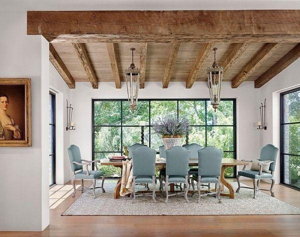 lanternes n oclassique meubles salle manger rustique. Black Bedroom Furniture Sets. Home Design Ideas