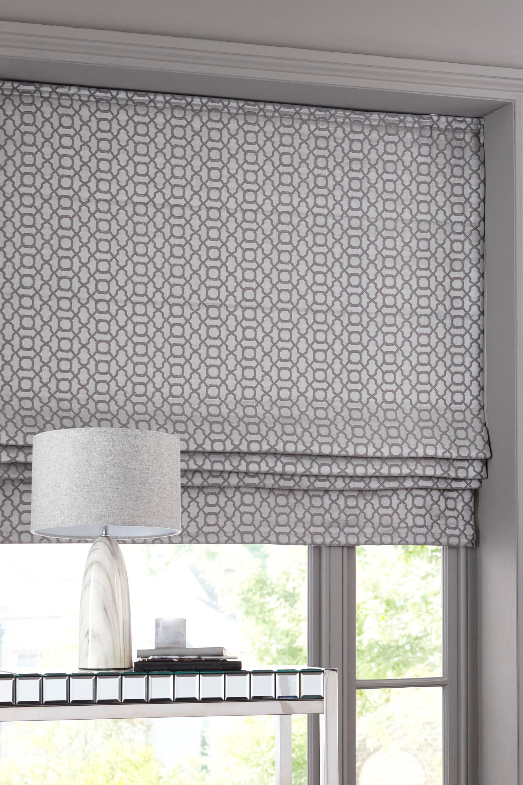 Diy Blinds Online Buy Woven Geo Roman Blind From The Next Uk Online Shop