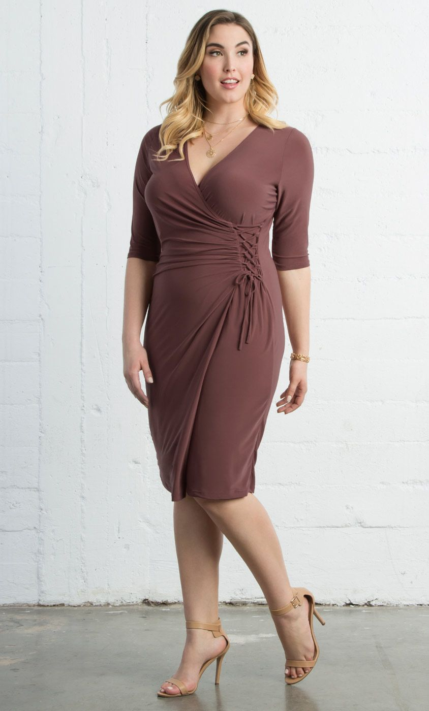 dfa47020f4e38 Check out the deal on Vixen Cocktail Dress at Kiyonna Clothing ...