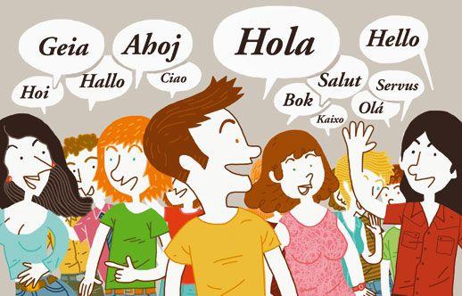 Illustrationer Barn Sok Pa Google Hola Hello Language Learning Languages