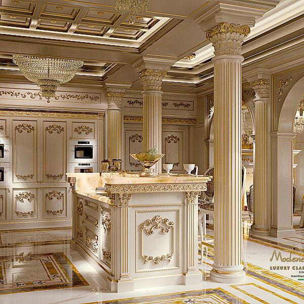 Royal Kitchen Design: The Kitchen Royal - Modenese Gastone