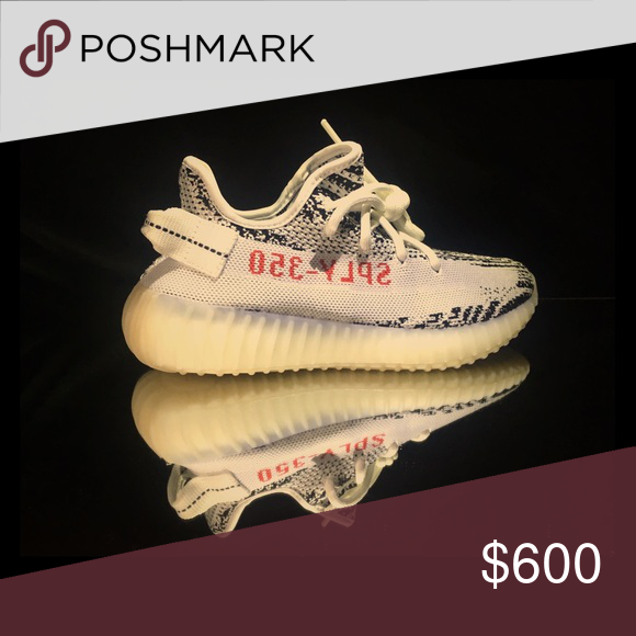 brand new e1b97 74600 adidas yeezy boost 350 v2 zebra deadstock  wms  w  box adidas Shoes  Athletic Shoes