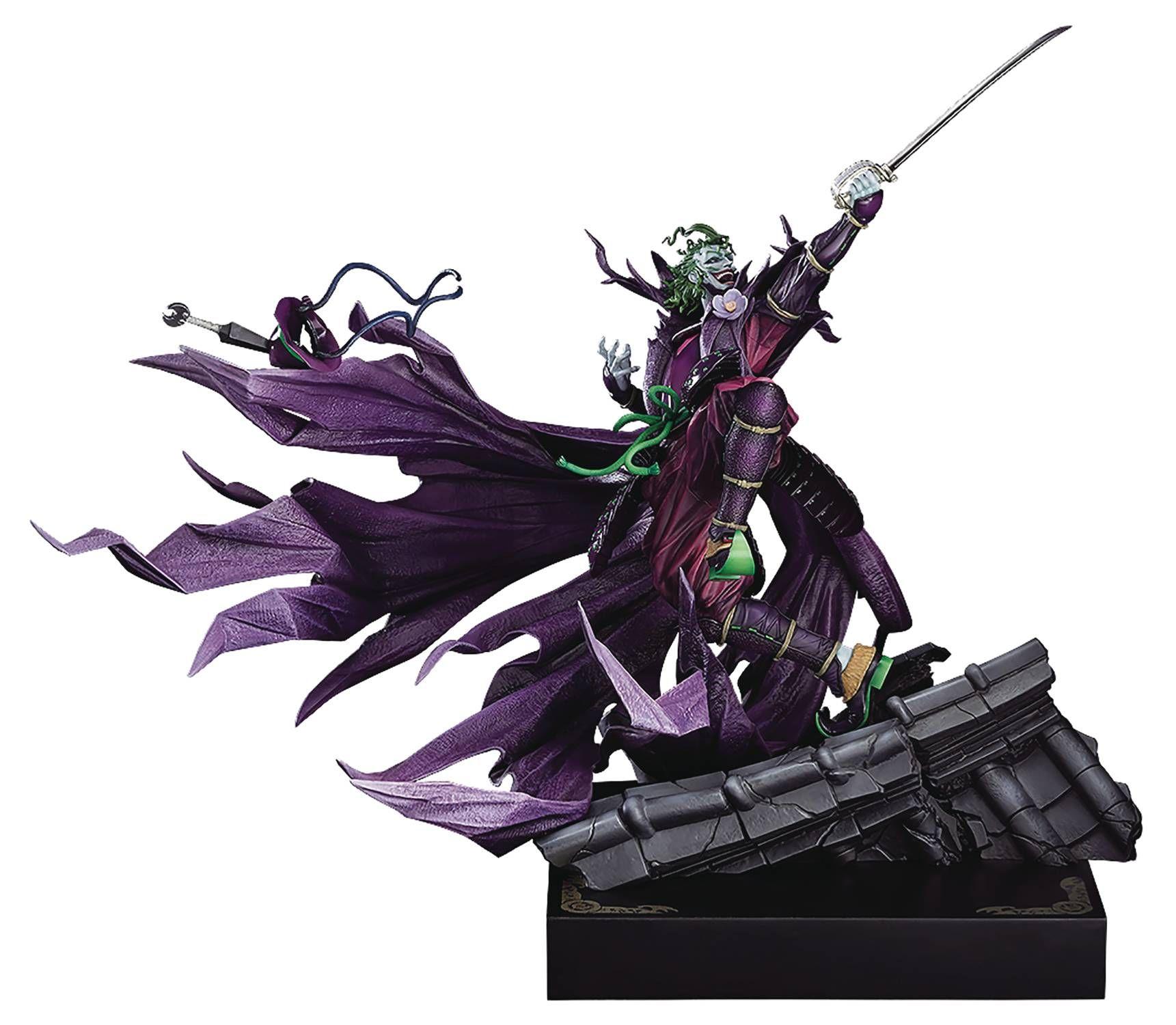 Batman Ninja Wonderful Hobby Selection Joker Takashi Okazaki Ver 1 6 Scale Limited Edition Statue Batman Ninja Takashi Batman Collectibles