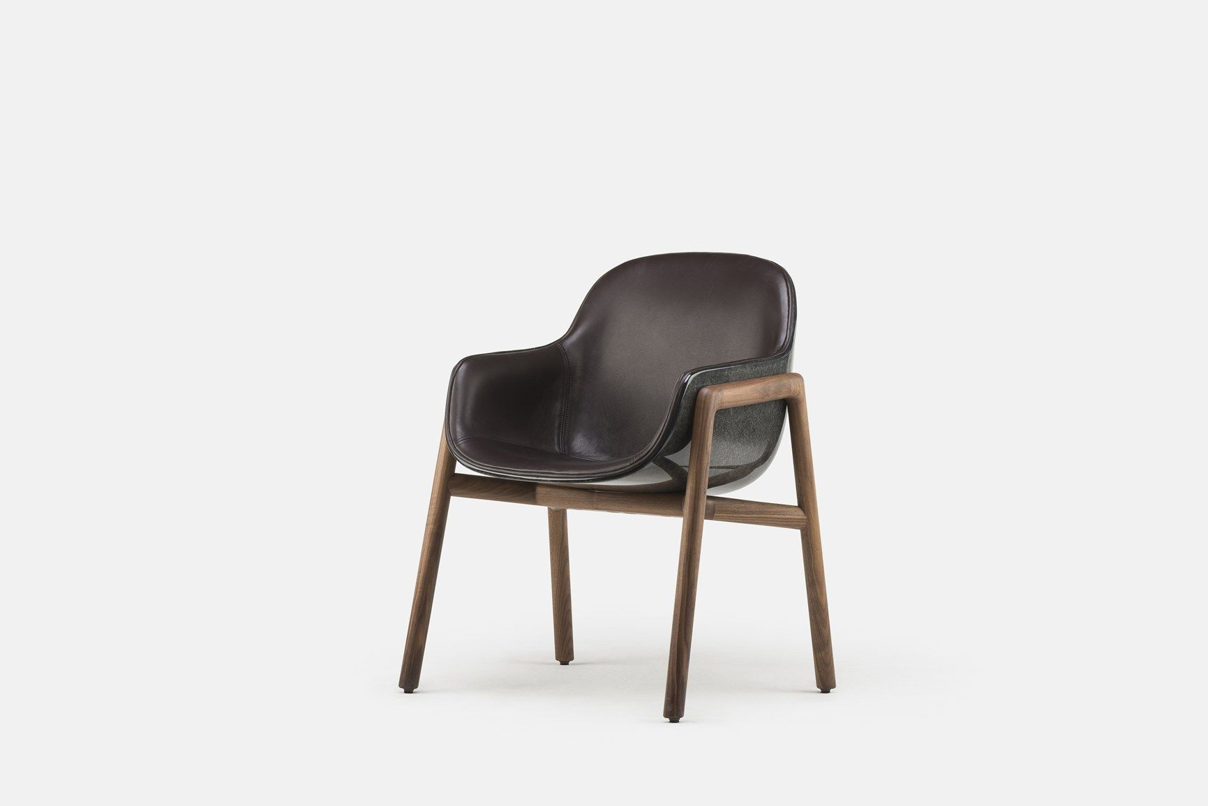 Stella Armchair And Marlon Table, A Suggestive Contrast Of Materials