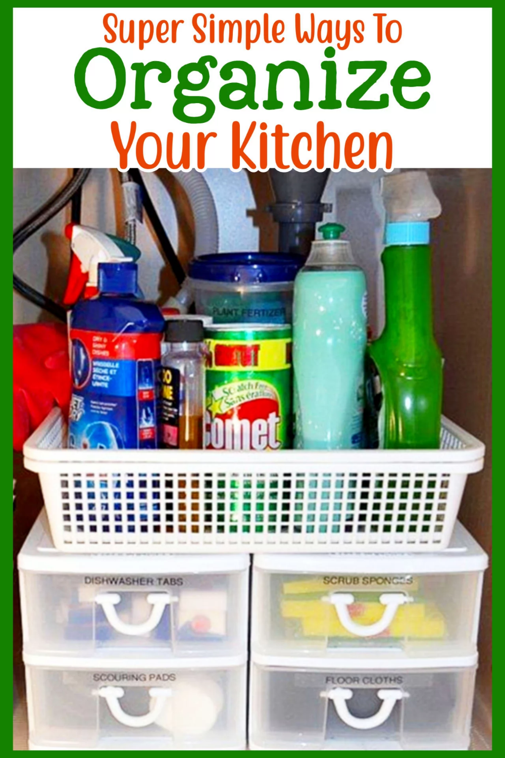 Kitchen Organization On A Budget For The Hopelessly