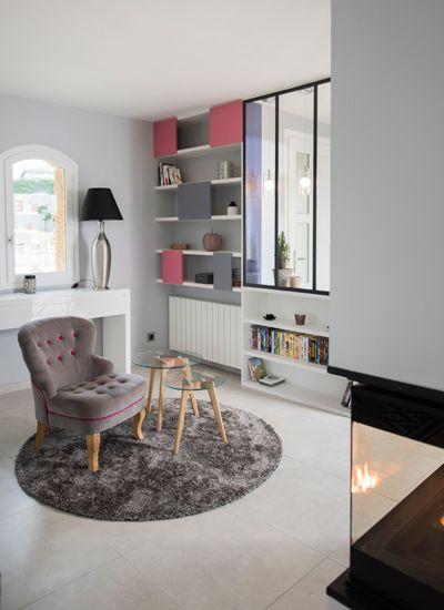 aux portes de la ville r novation maison lentilly lyon id es deco pinterest. Black Bedroom Furniture Sets. Home Design Ideas