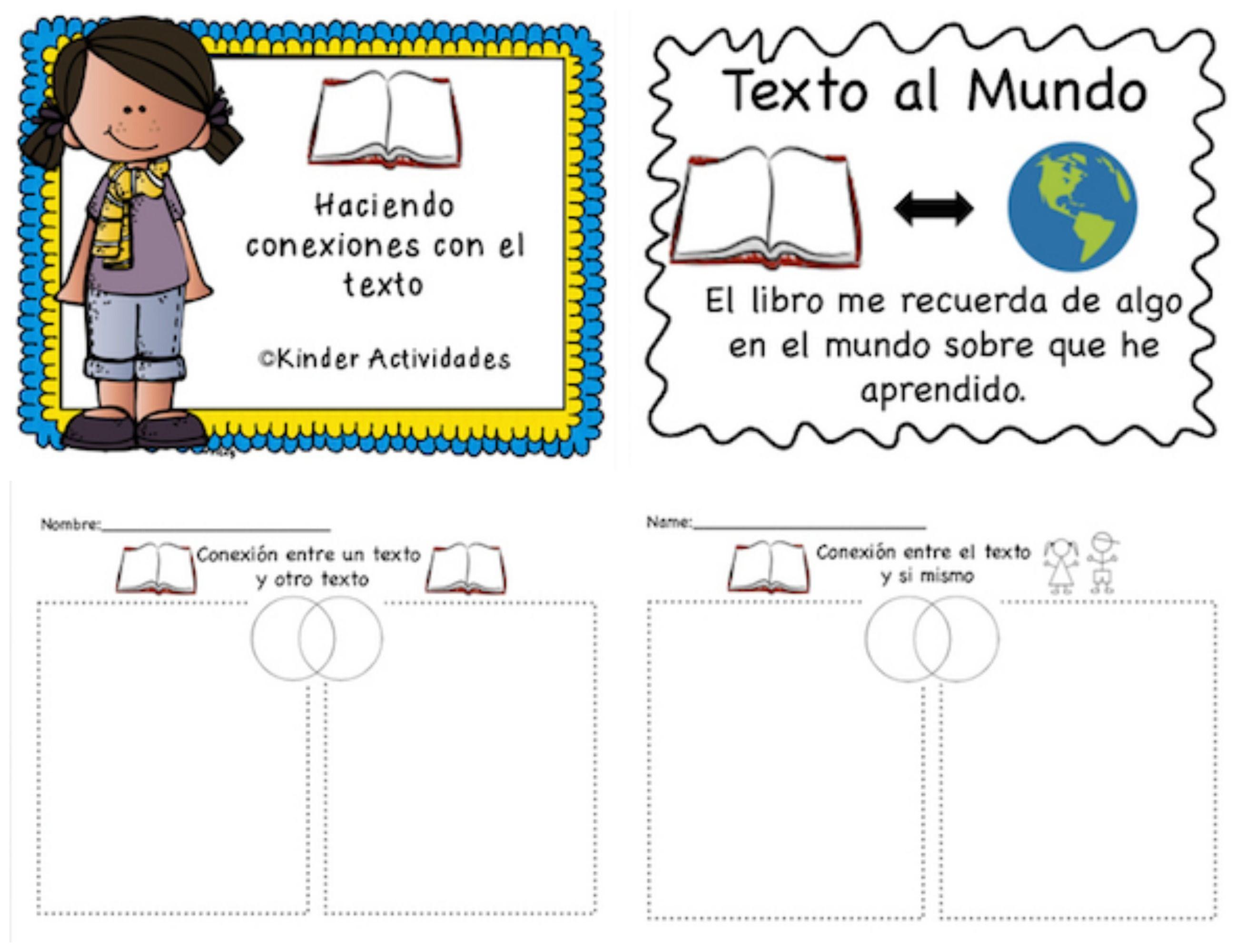 Text Connection In Spanish Haciendo Conexiones Con El Texto