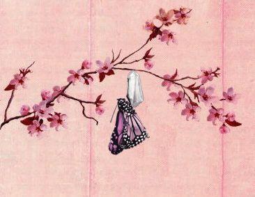 Tattoo cherry flower