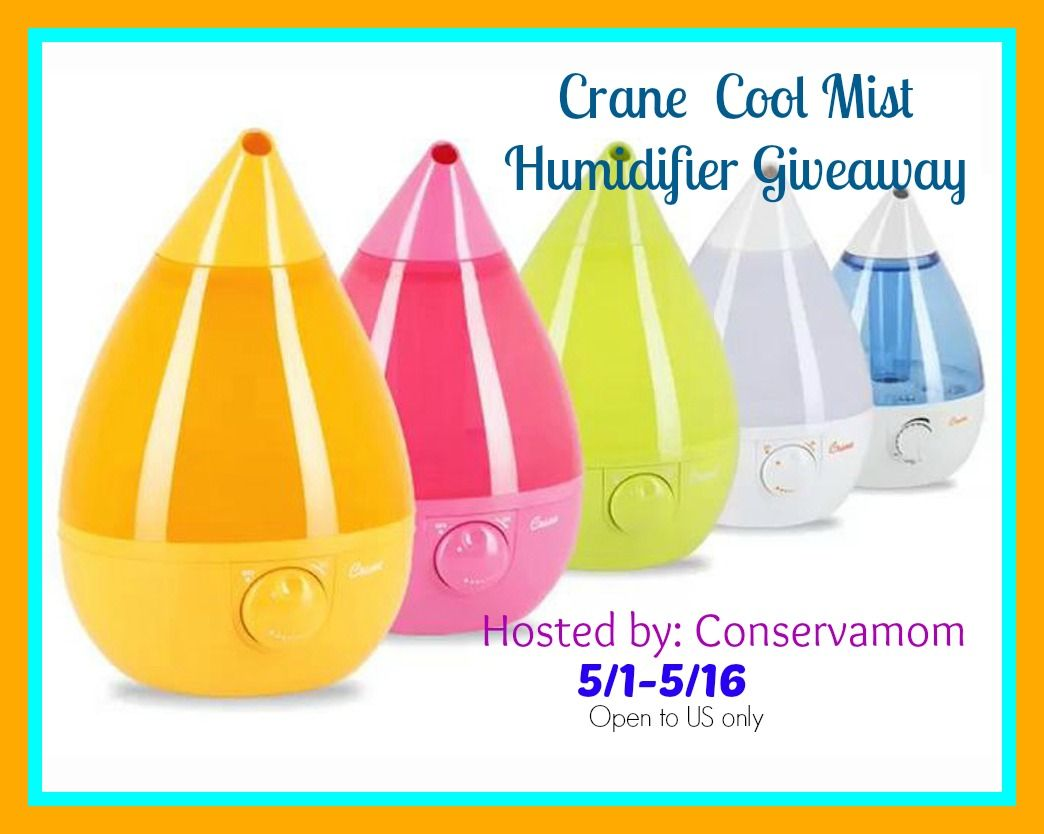 Crane Cool Mist Humidifier Giveaway Ends 5 16 Ultrasonic Cool