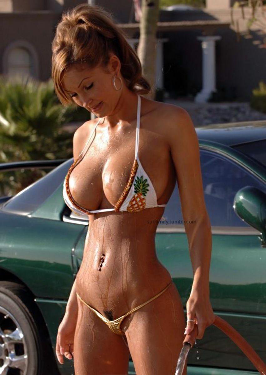 Milf challenge bikini