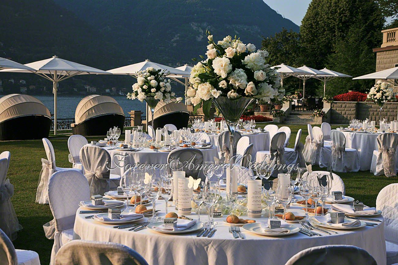 Wedding reception casta diva lake como summer wedding inspirations in 2019 pinterest - Casta diva como ...
