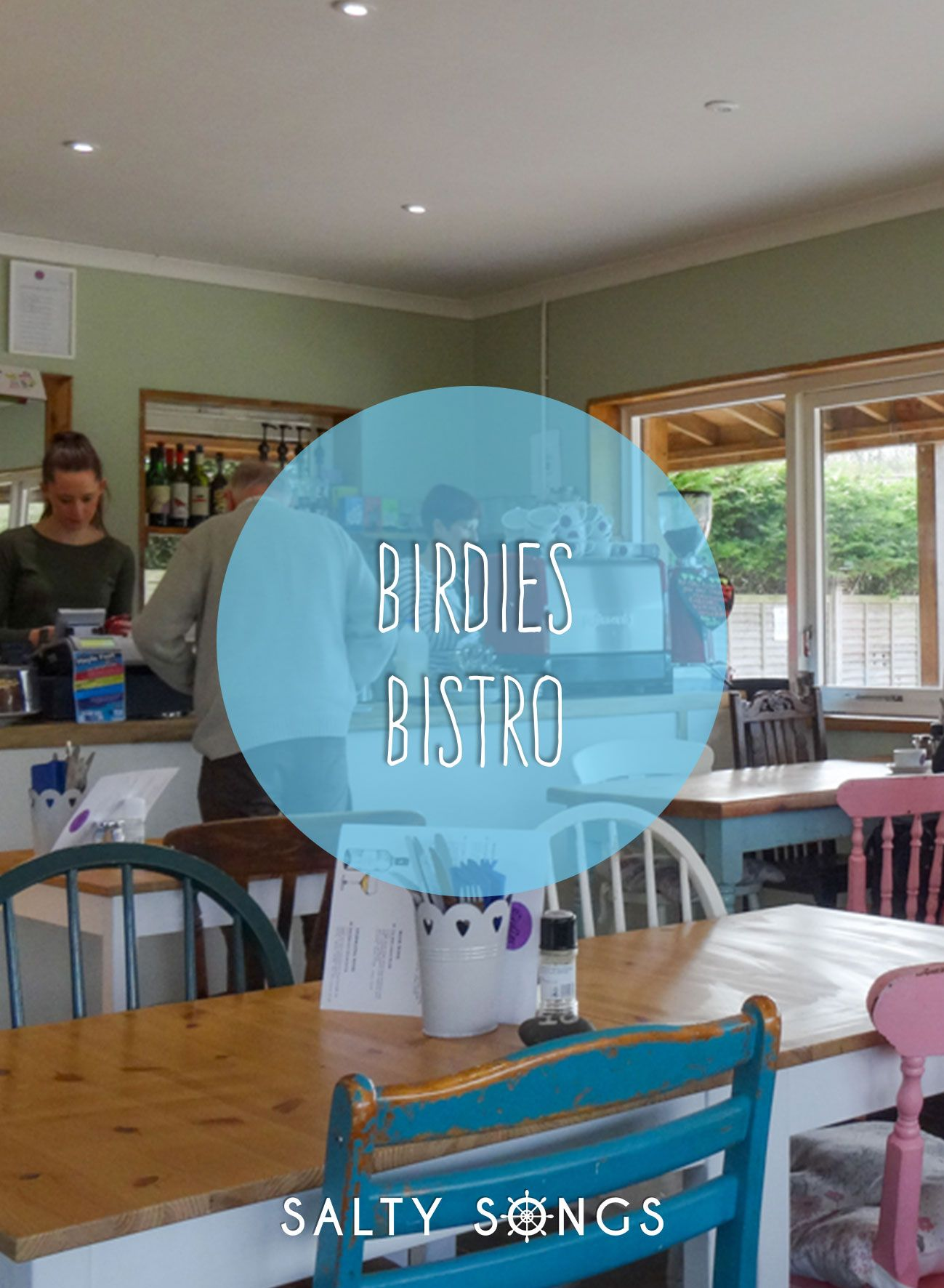 Breakfast At Birdies Bistro, Hayle Estuary, Cornwall
