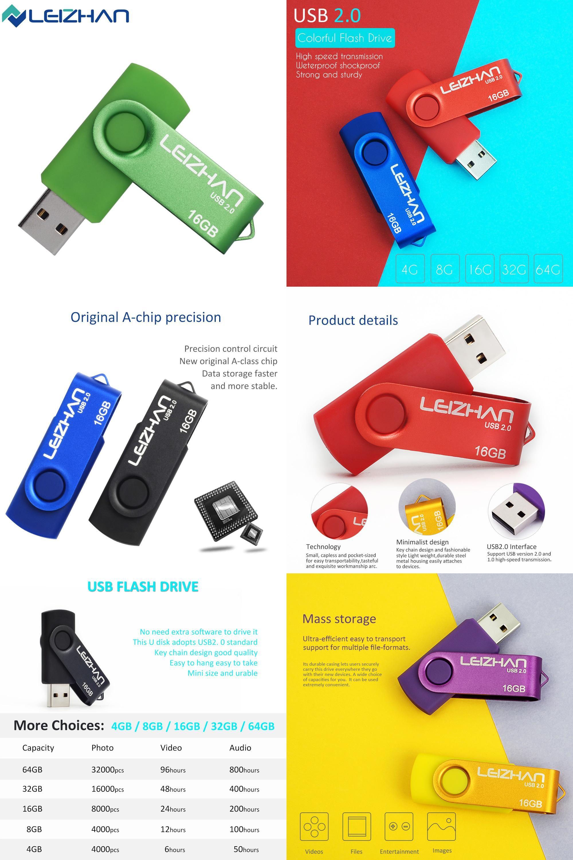 Visit To Buy Leizhan New Usb Flash Drive 16gb Finger 20 Flasdisk Sandisk 8gb 8 Gb Original Memory