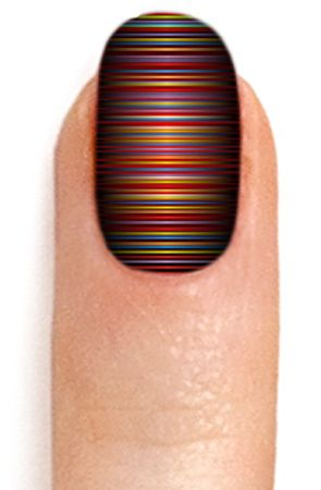 The Electro Nail Wrap by ncLA