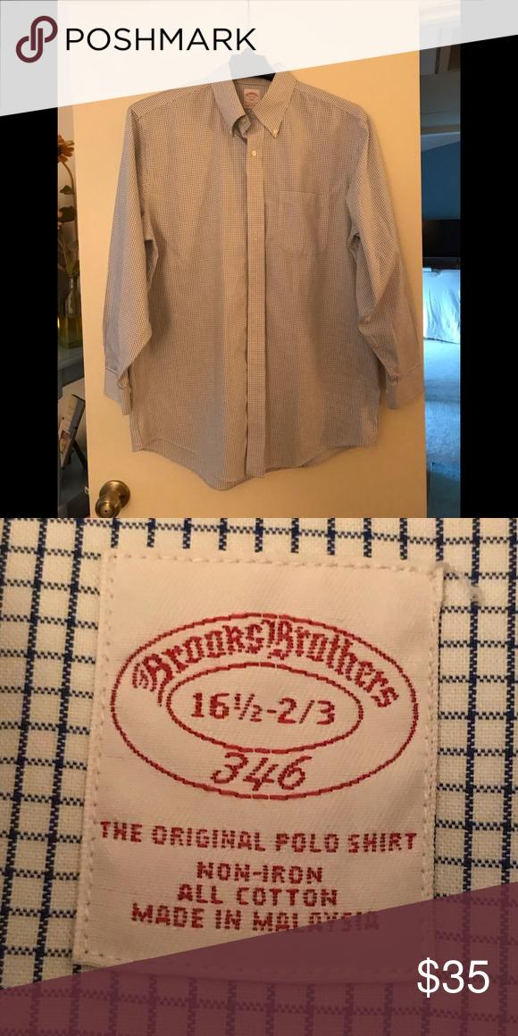 c9d01f9de6 Brooks Brothers Factory Outlet (346) Dress Shirt Brooks Brothers Factory  Outlet 346 Shirt.