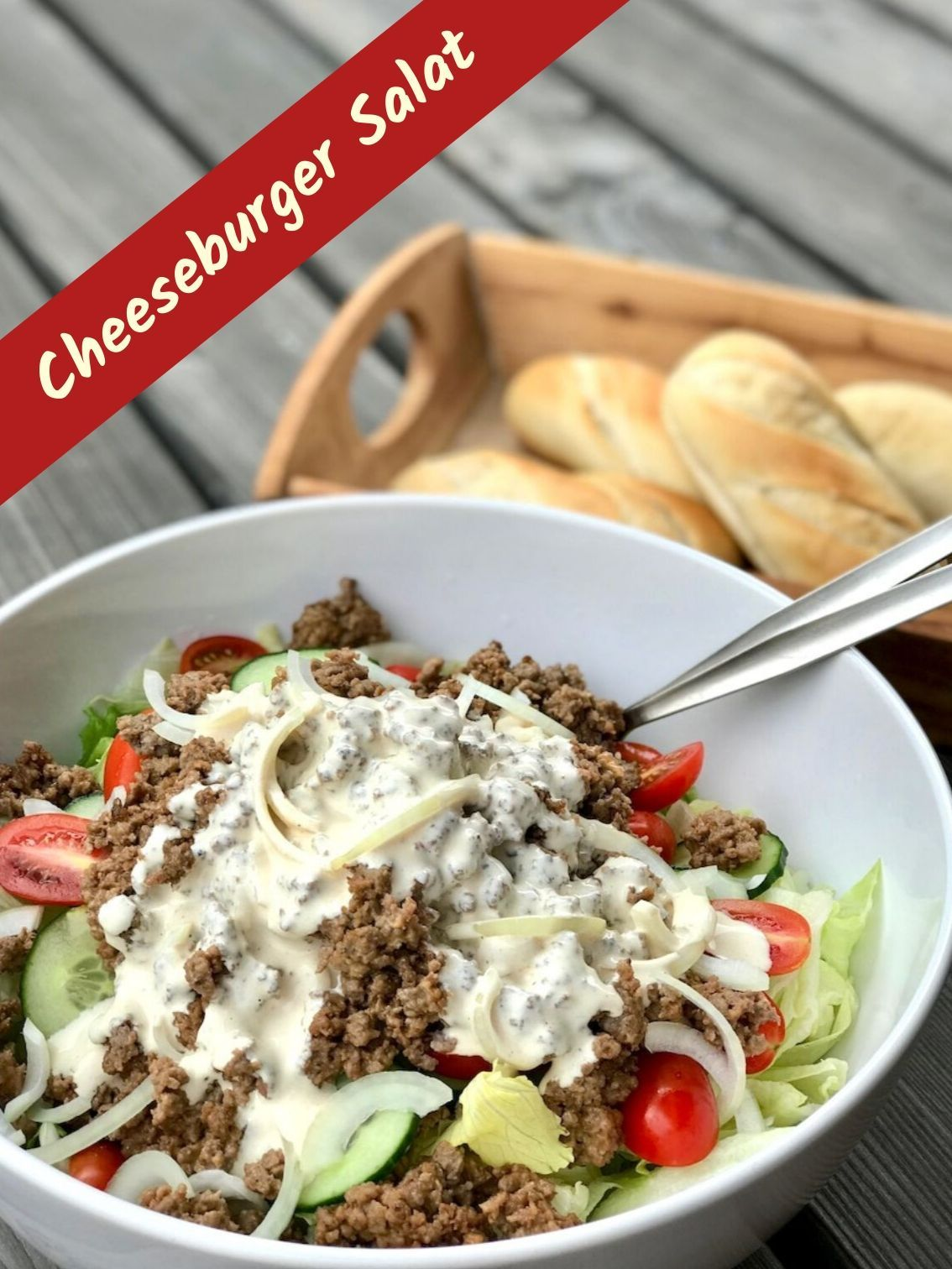 Photo of Cheeseburger Salat