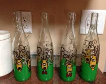 Christmas Bottle Decorations Christmas Light Up Wine Bottles Decorative Christmas Bottles