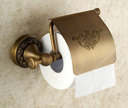 Vintage Engraved Design Swivel Toilet Roll Paper Rail Holder With Cover Wall Mounted Bathroom Accessories Br Material Oil Rubbed Bronze
