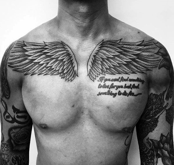 40 Wing Chest Tattoo Designs For Men Freedom Ink Ideas In 2020 Cool Chest Tattoos Chest Tattoo Men Chest Tattoo