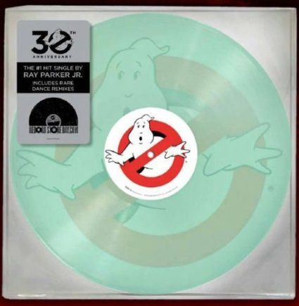 Amazon Com Ray Parker Jr Ghostbusters Rsd 10 Inch Vinyl Glow In The Dark Single Music Ghostbusters Vinyl Ghostbusters Theme