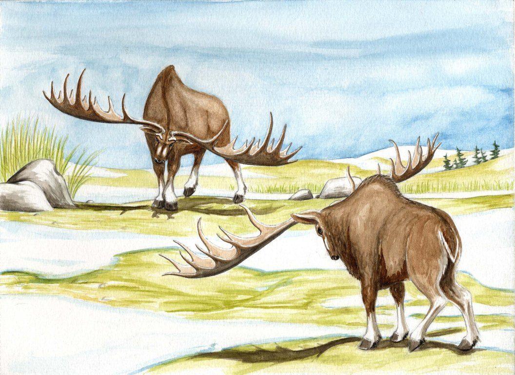Ледниковый период животные в картинках