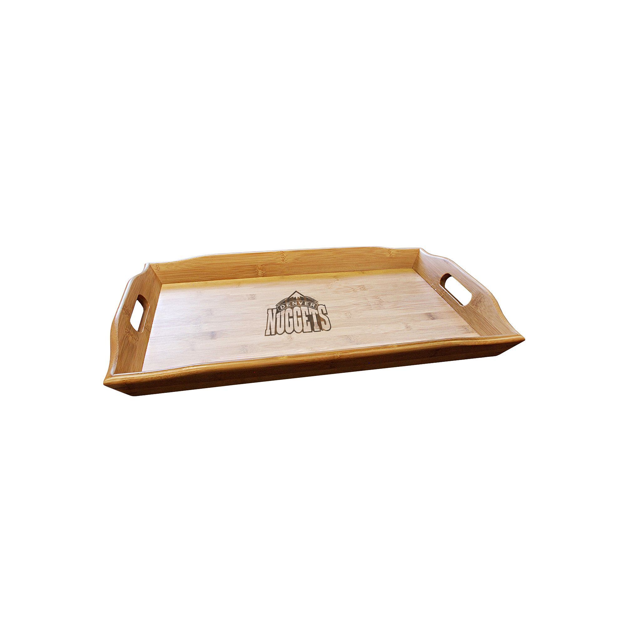 Denver Nuggets Bamboo Serving Tray, Brown
