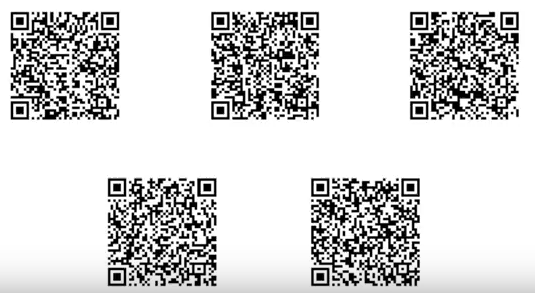 5 20 point QR codes for Pokemon ultra Sun and Moon | stuff