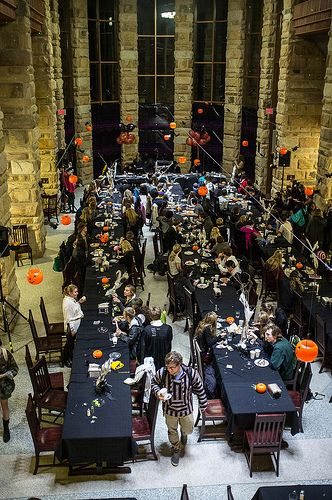 hogwartshalloween in mcclurg university of the south sewanee ysr - Hogwarts Halloween