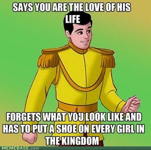 Oh Prince Charming..