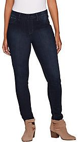 f75706bc30af As Is Hot in Hollywood Silky Denim Pull-On Skinny Ankle Jeans