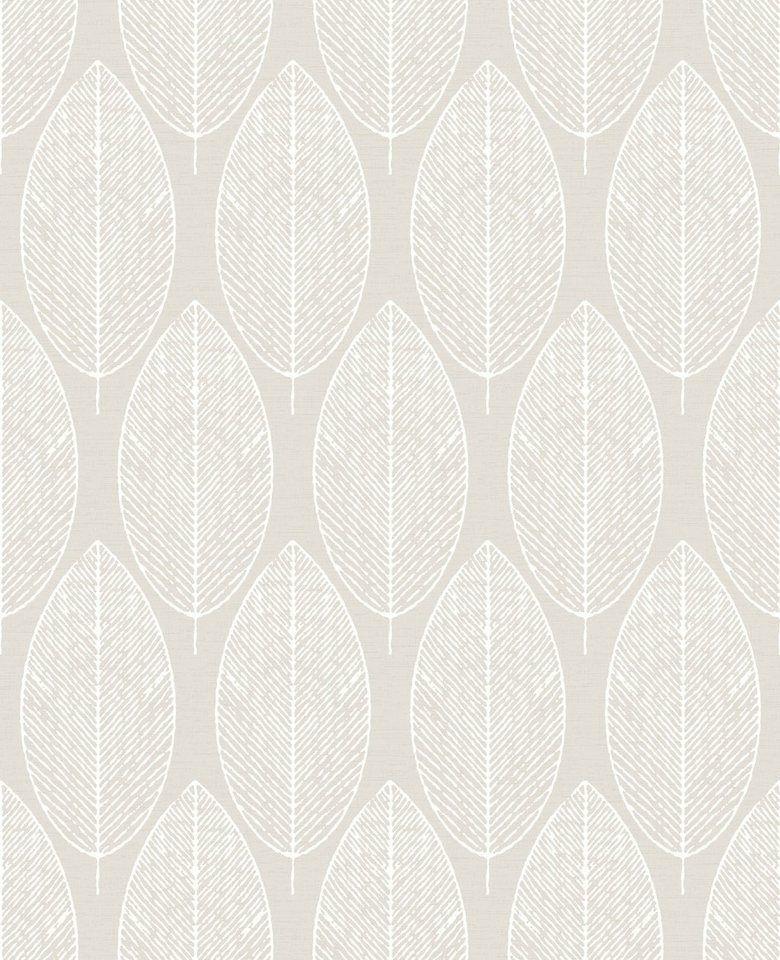 GroB GRAHAM U0026 BROWN Vliestapete »Skandinavische Blätter« Für 21,99u20ac. Hochwertige  Qualität