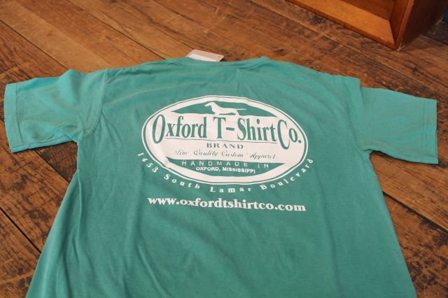 Oxford T Shirt Co Logo Tee Comfort Color Grass Green 16 00 T