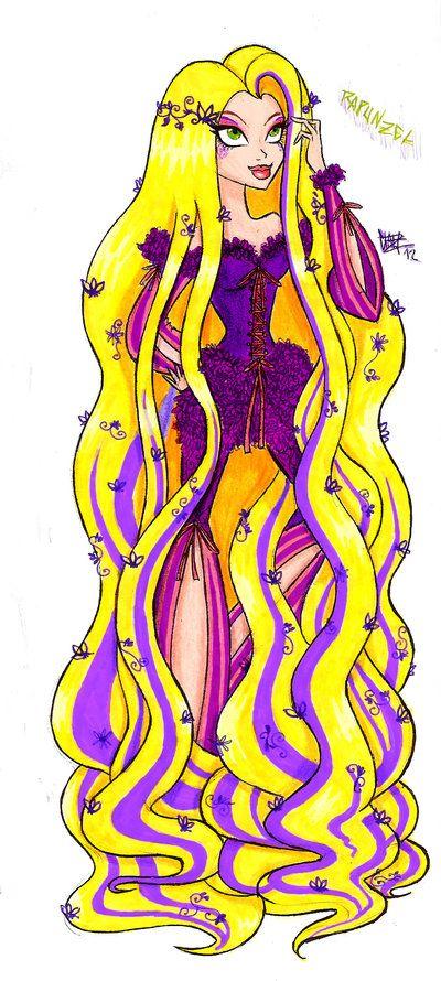 Rapunzel by Clau [©2011-2014 Xibira]