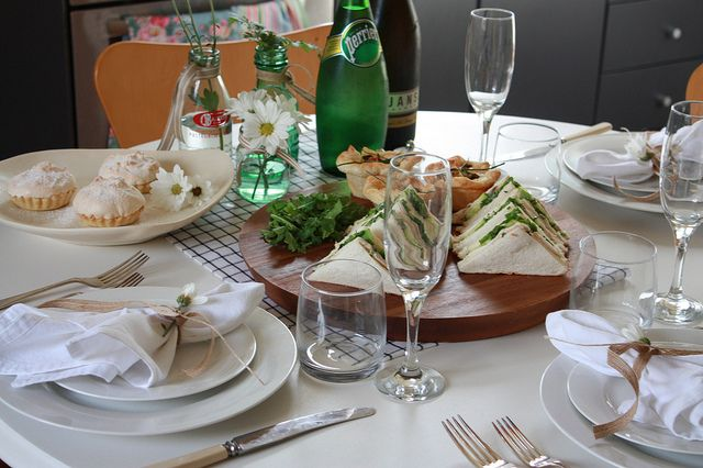 mother's day lunch by little glowing lights, via Flickr