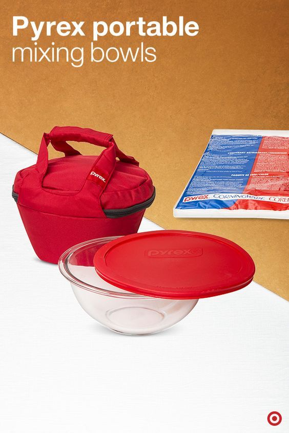 Ordinaire Pyrex Portable Mixing Bowls