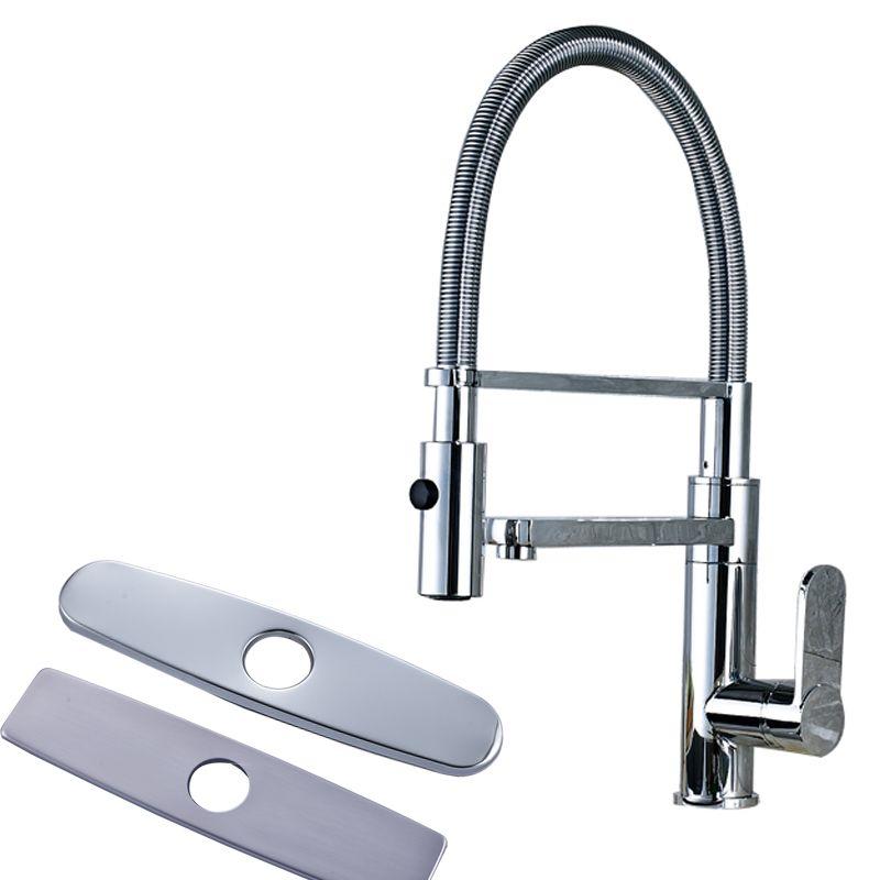 Luxury Design Single Lever Kitchen Sink Faucet Dual Spout with ...