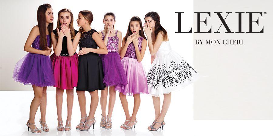 Tween Dresses For Weddings Dances Graduation Lexie By Mon Cheri