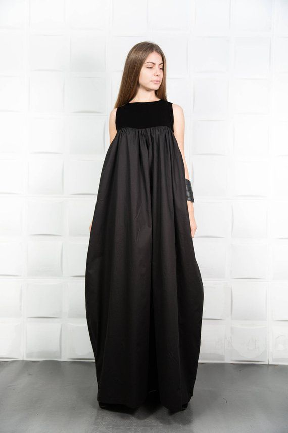 a92abff4d7aec Velvet Dress, Maxi Dress, Black Dress, Plus Size Clothing, Evening ...