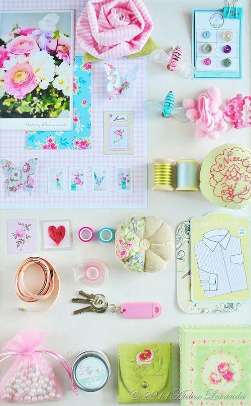 Cuore Handmade UK: Tilda Creazioni e Spring Time Ispirazione da Atelier Lavanda