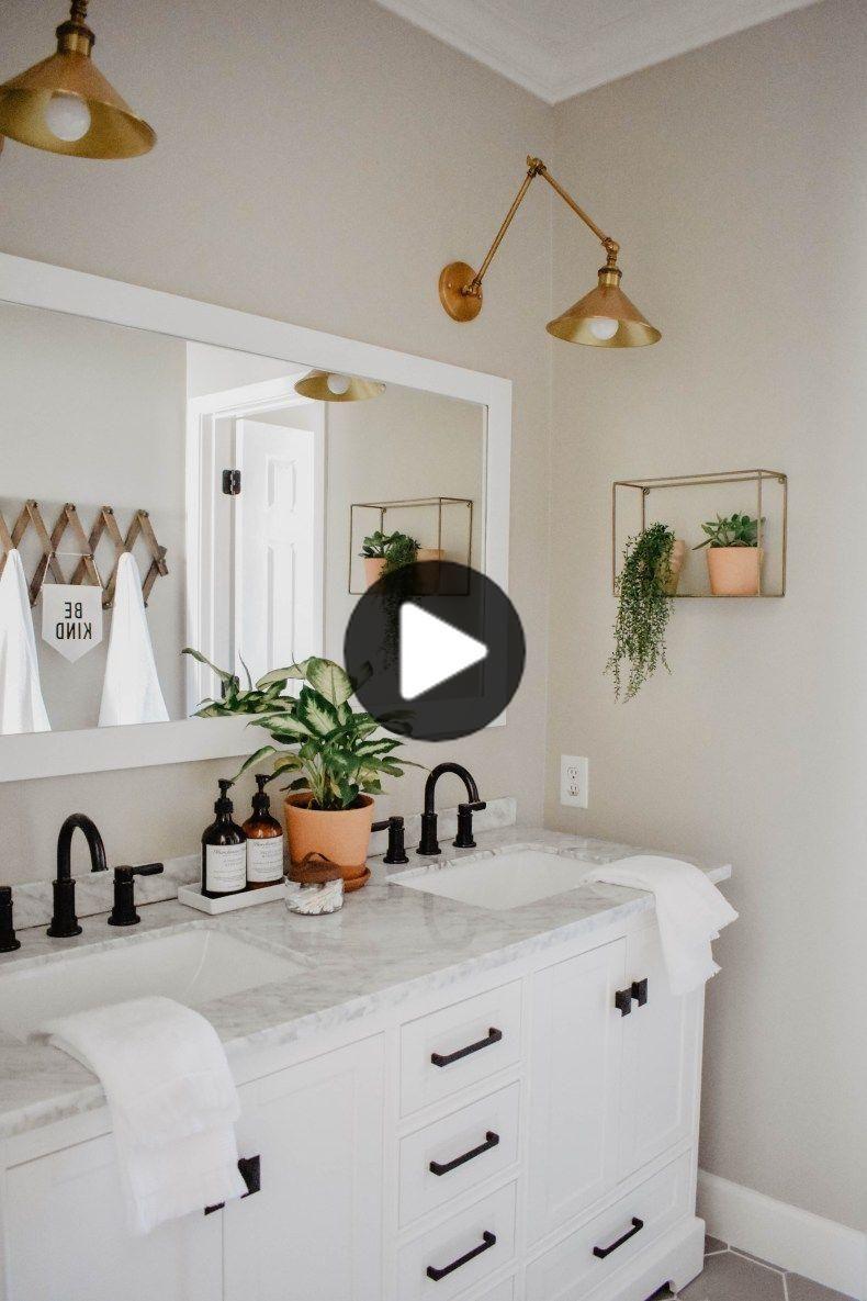 近代的な自由奔放に生きる浴室リフォーム In 2020 Boho Bathroom