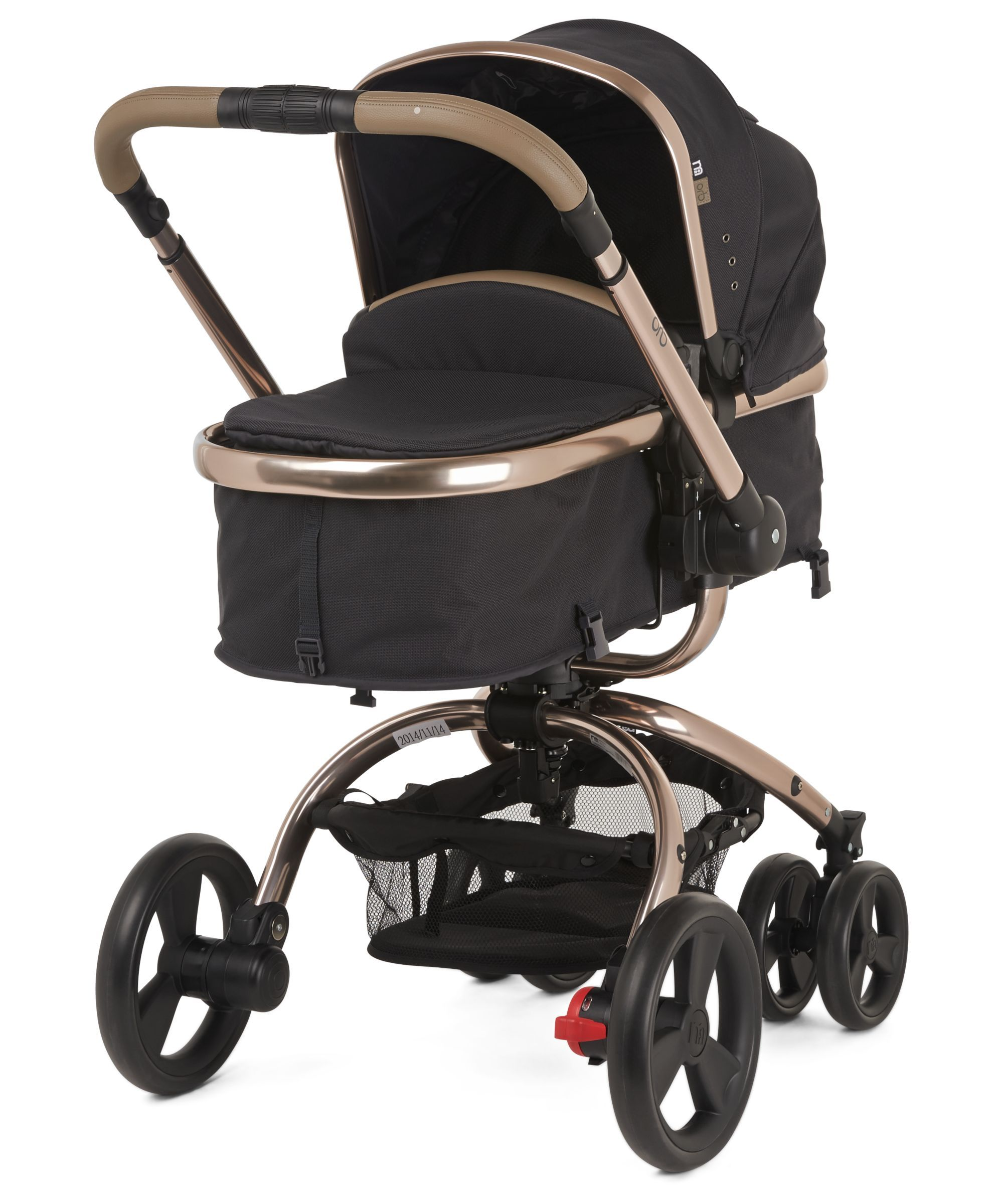 Mothercare Orb Pram and Pushchair Liquorice Canvas