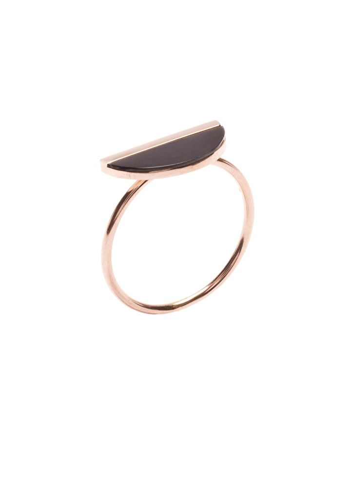 Half Circle Minimalist Ring - #jewelry #fashion  #ring -  18,90 € @happinessboutique.com