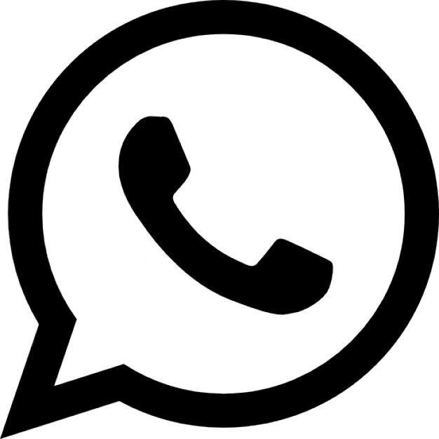 10765a50e7 Logotipo whatsapp Ícone grátis