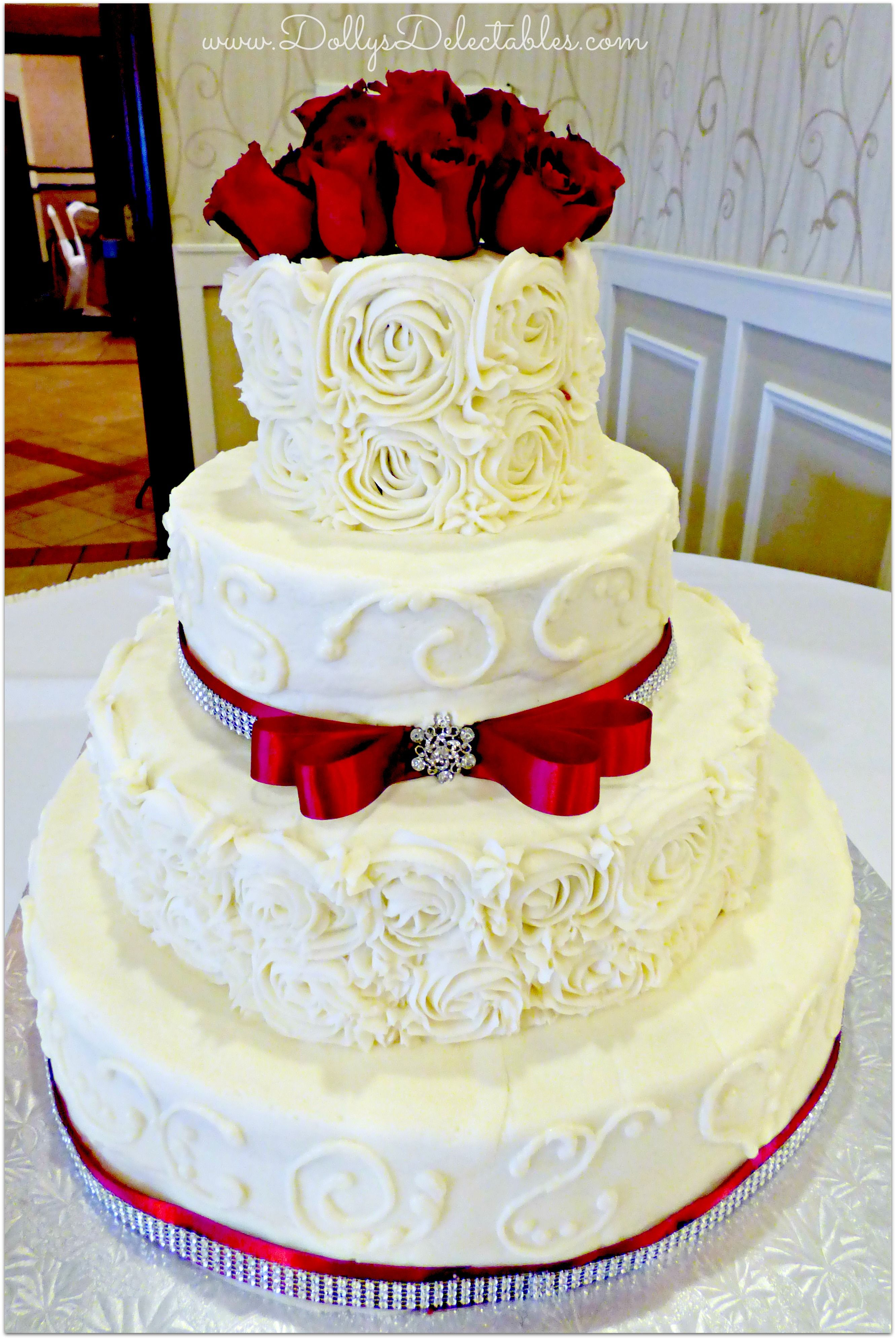 Awesome Wedding Cake No Fondant Project - Bruman MMC